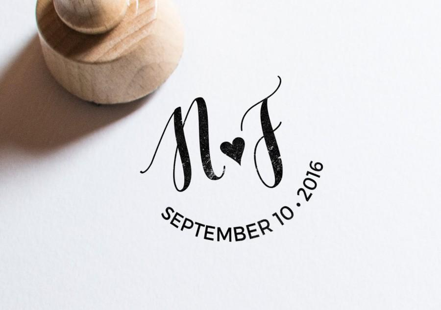 Wedding Monogram Personalized Design Logo Diy