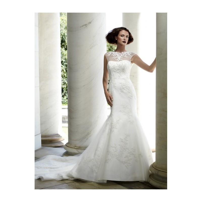 Wedding - Casablanca Bridal 2076 Fit and Flare Wedding Dress - Crazy Sale Bridal Dresses