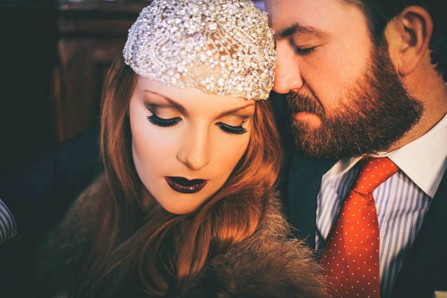 Свадьба - Ziegfeld - Couture Gatsby headpiece