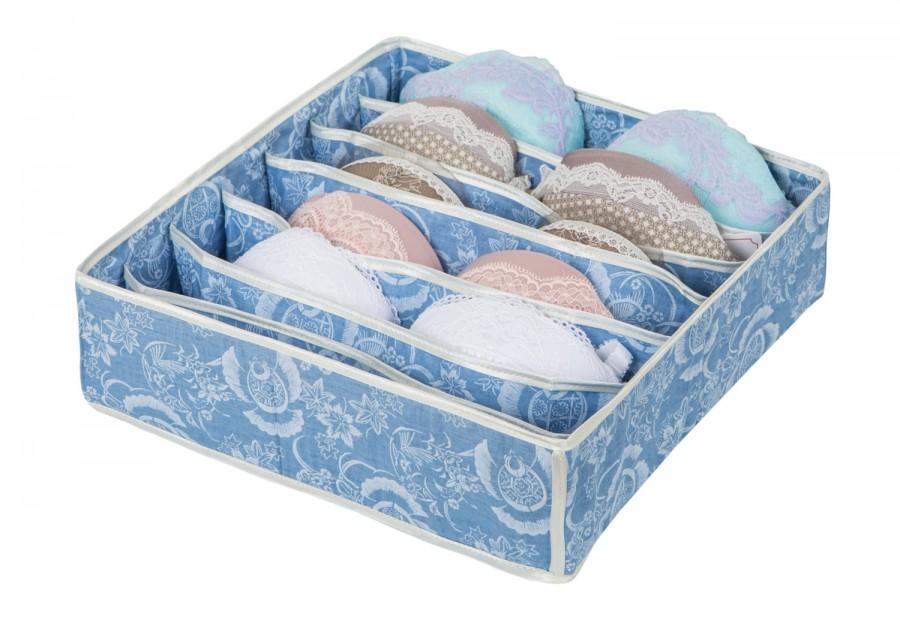 Lingerie Organizer: For Bra/ Underwear/ T Shirts/ Sleepwear. Storage Box.  Drawer Organizer. Underwear Organizer. Lingerie Storage. Bra Box.