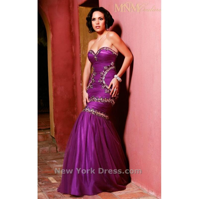 Mariage - MNM Couture 7246 - Charming Wedding Party Dresses