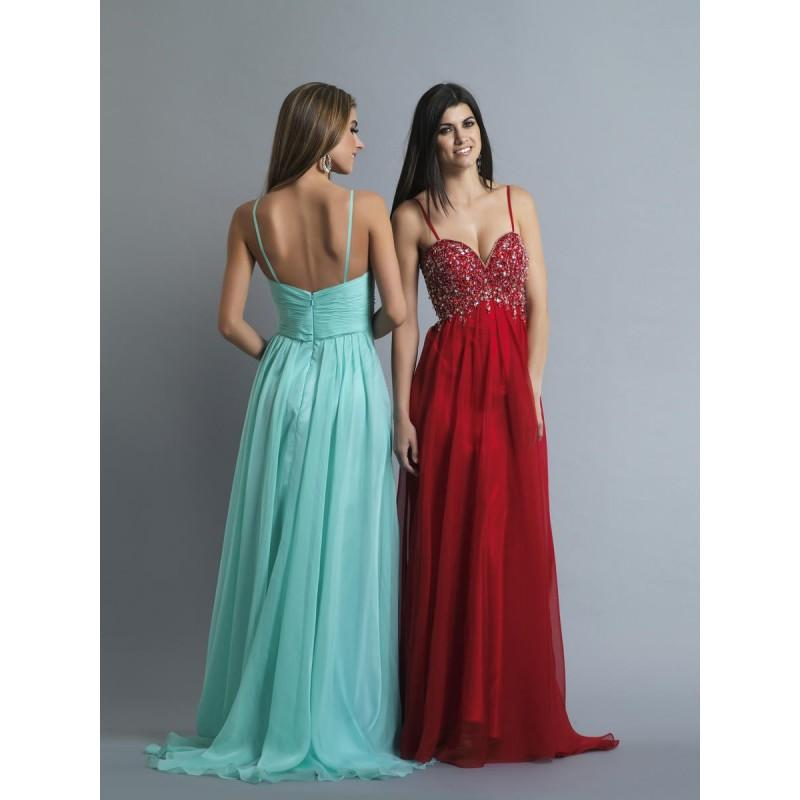Wedding - Dave and Johnny 10228 Beaded Long Dress - Brand Prom Dresses