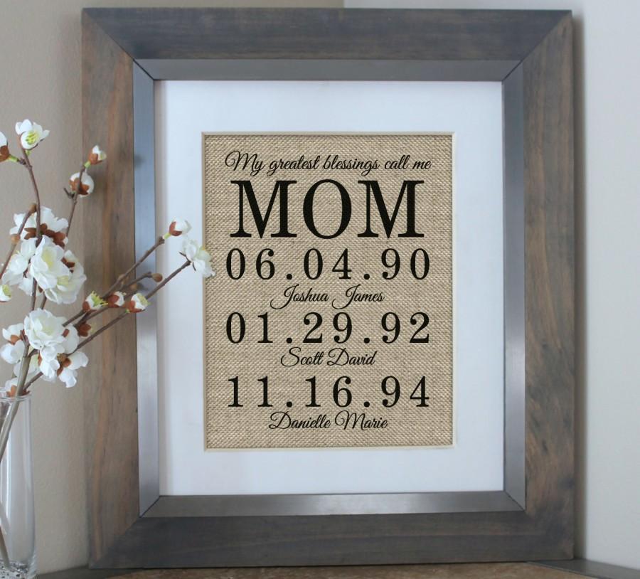 Hochzeit - Christmas Gift for Mom