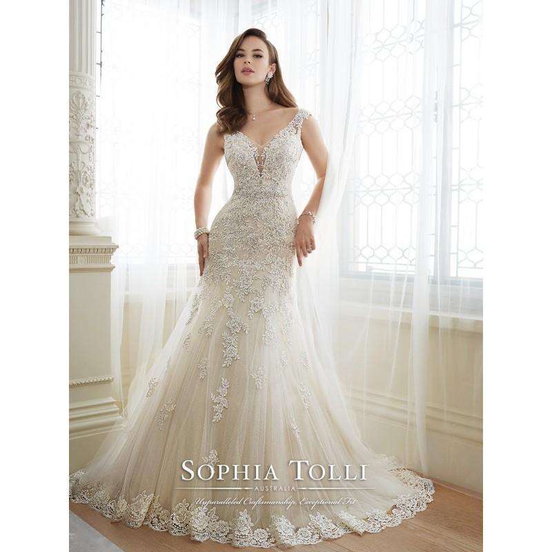 Hochzeit - Mon Cheri  Y11643 - Daria -  Designer Wedding Dresses
