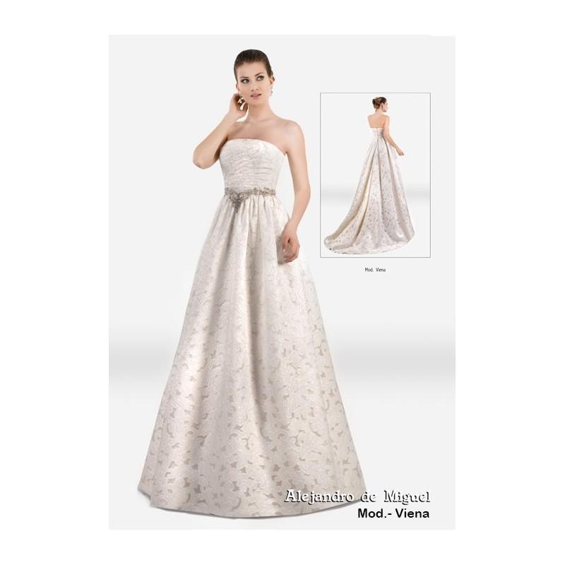Wedding - Viena (Alejandro de Miguel) - Vestidos de novia 2017