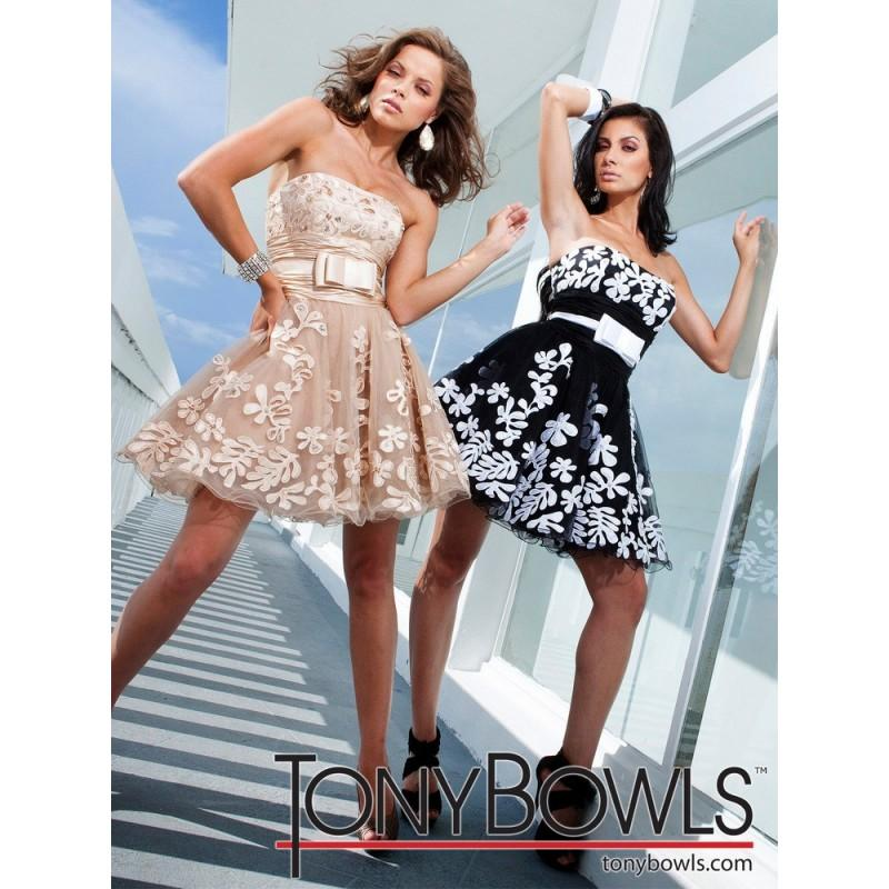 Wedding - TS11250 Tony Bowls Short - HyperDress.com