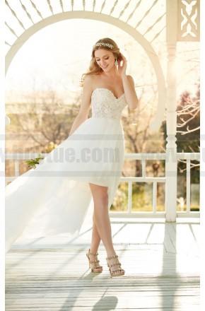 Hochzeit - Martina Liana Strapless High-Low Wedding Dress Style 810