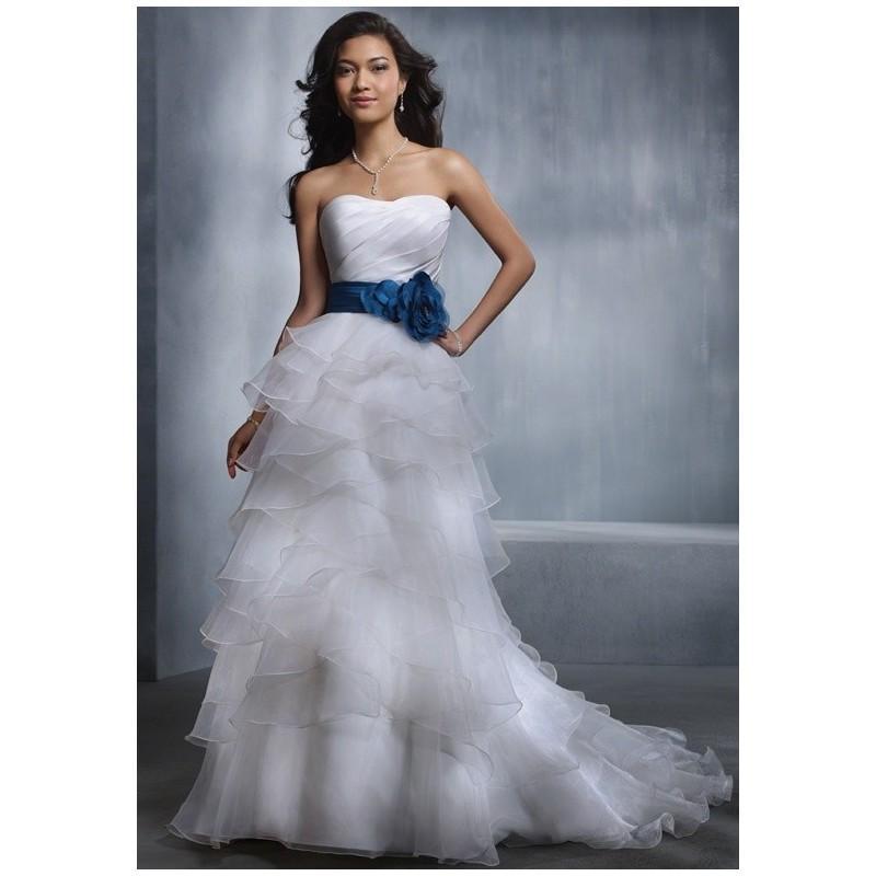 Alfred Angelo Wedding Dress: Charming Custom-made Dresses #2620884