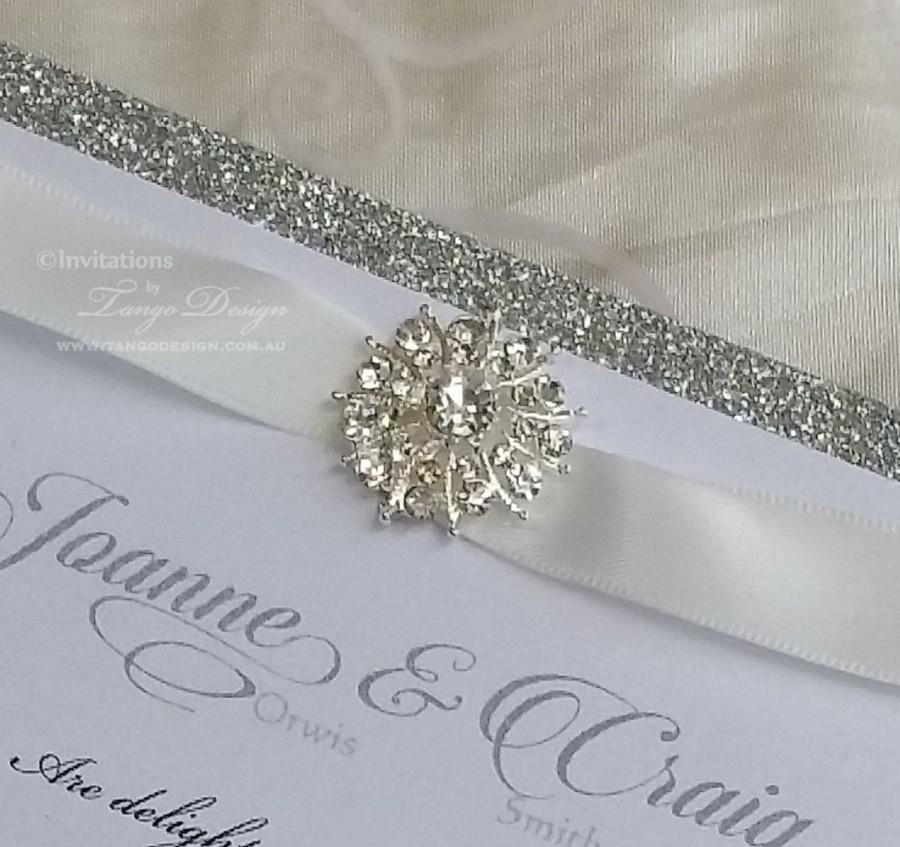 Vintage Rhinestone Brooch X20 Embellishments Diamante