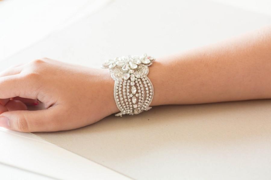 Mariage - Hollywood inspired bridal bracelet - Style R06