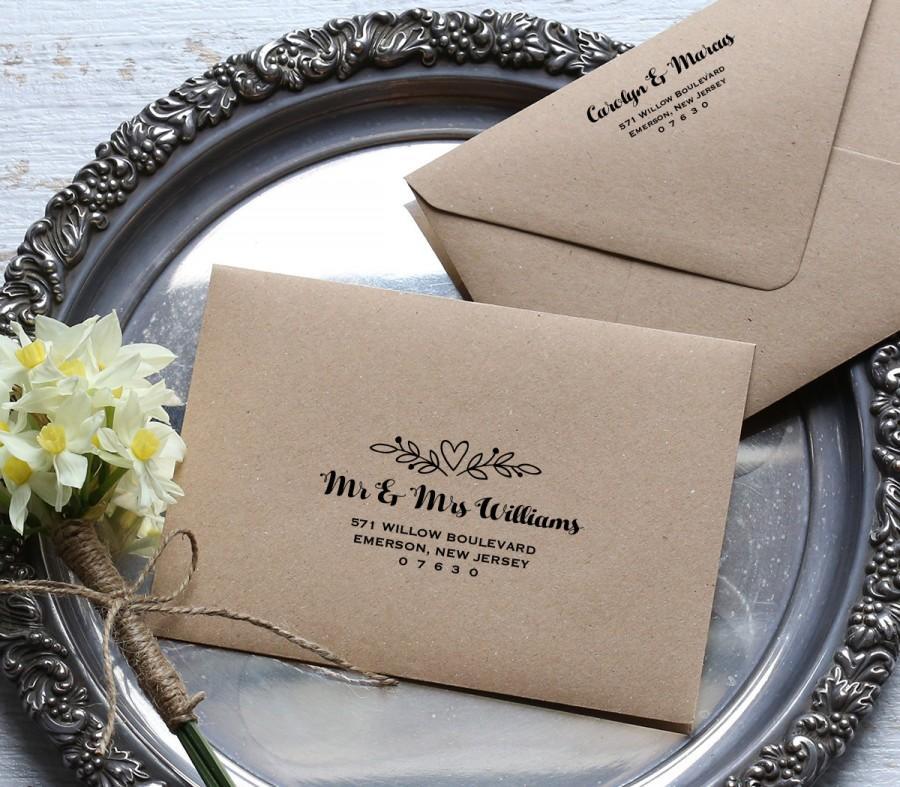 Printable Envelope Template Wedding Address Template Editable Text