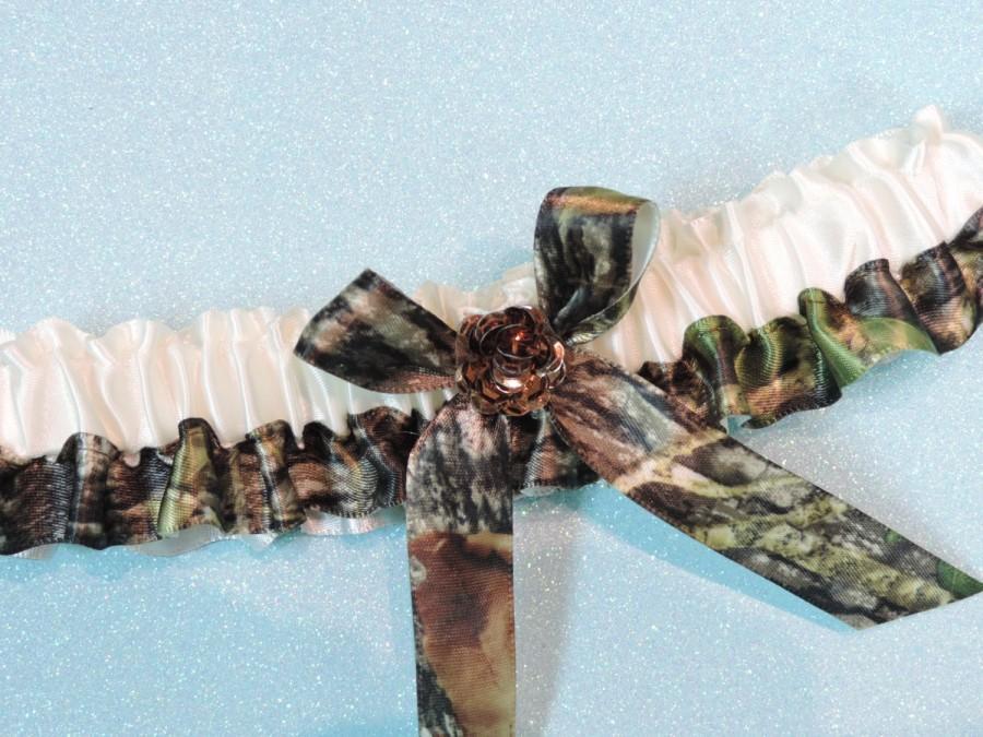Mossy Oak Garter Wedding Camouflage Bridal Camo Garters