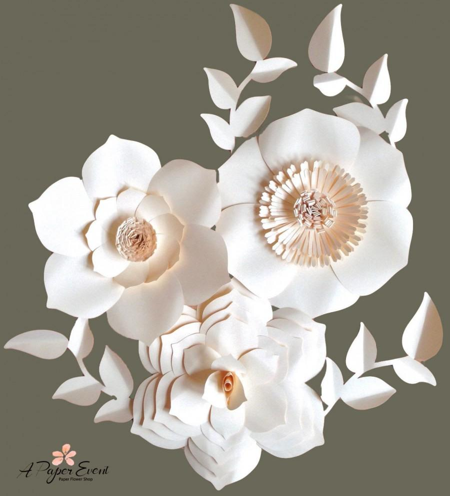 paper flower wedding centerpieces - Romeo.landinez.co