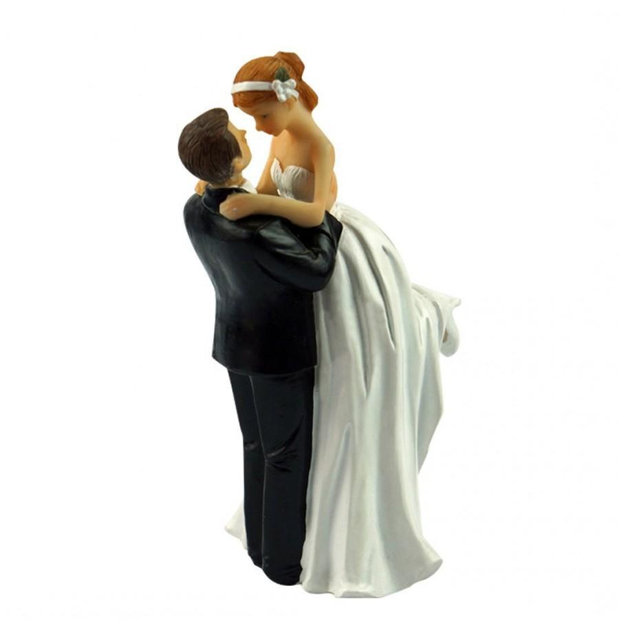Mariage - Love Wedding Cake Toppers figurines couple 3 X 3 X 6 Inch
