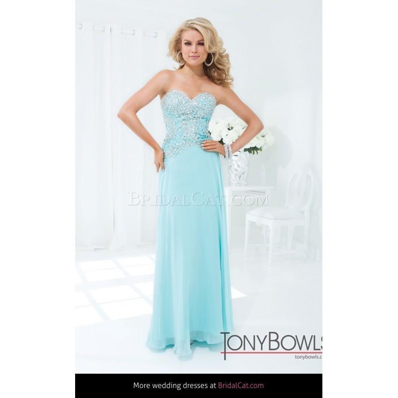 Wedding - Startseite Cocktail-Kleider Mon Cheri Tony Bowls Le Gala 114531 - Fantastische Brautkleider