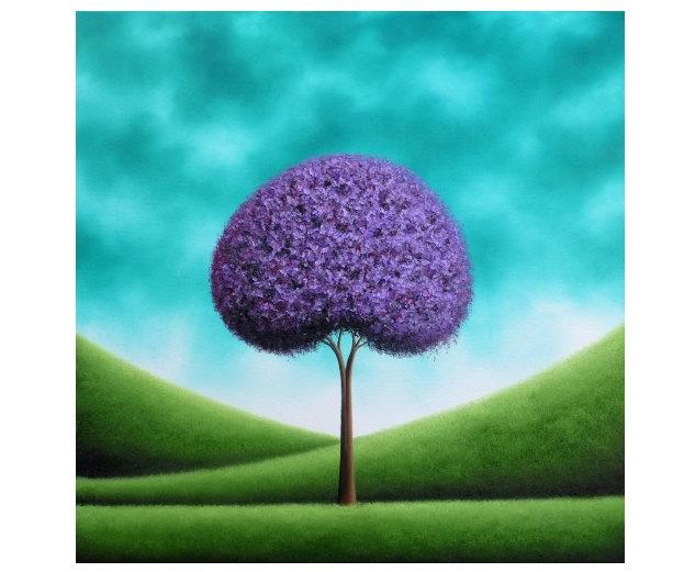 original painting tree oil painting modern abstract art
