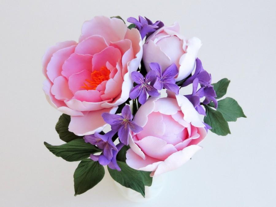 Wedding - Deposit for Everlasting Keepsake Bridal Flower Bouquet -- Handmade, Air-dry clay, Custom-made to order