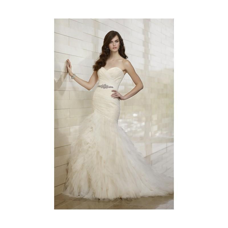 Wedding - Sexy Trumpet/Mermaid Sweetheart Beading Ruching Sweep/Brush Train Tulle Wedding Dresses - Dressesular.com