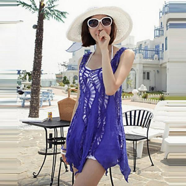 2d48f86fb1 2017 fashion swimwears bathing suit cover ups sexy crochet blue lace pareo  beach dress summer bikini swimsuit cover up
