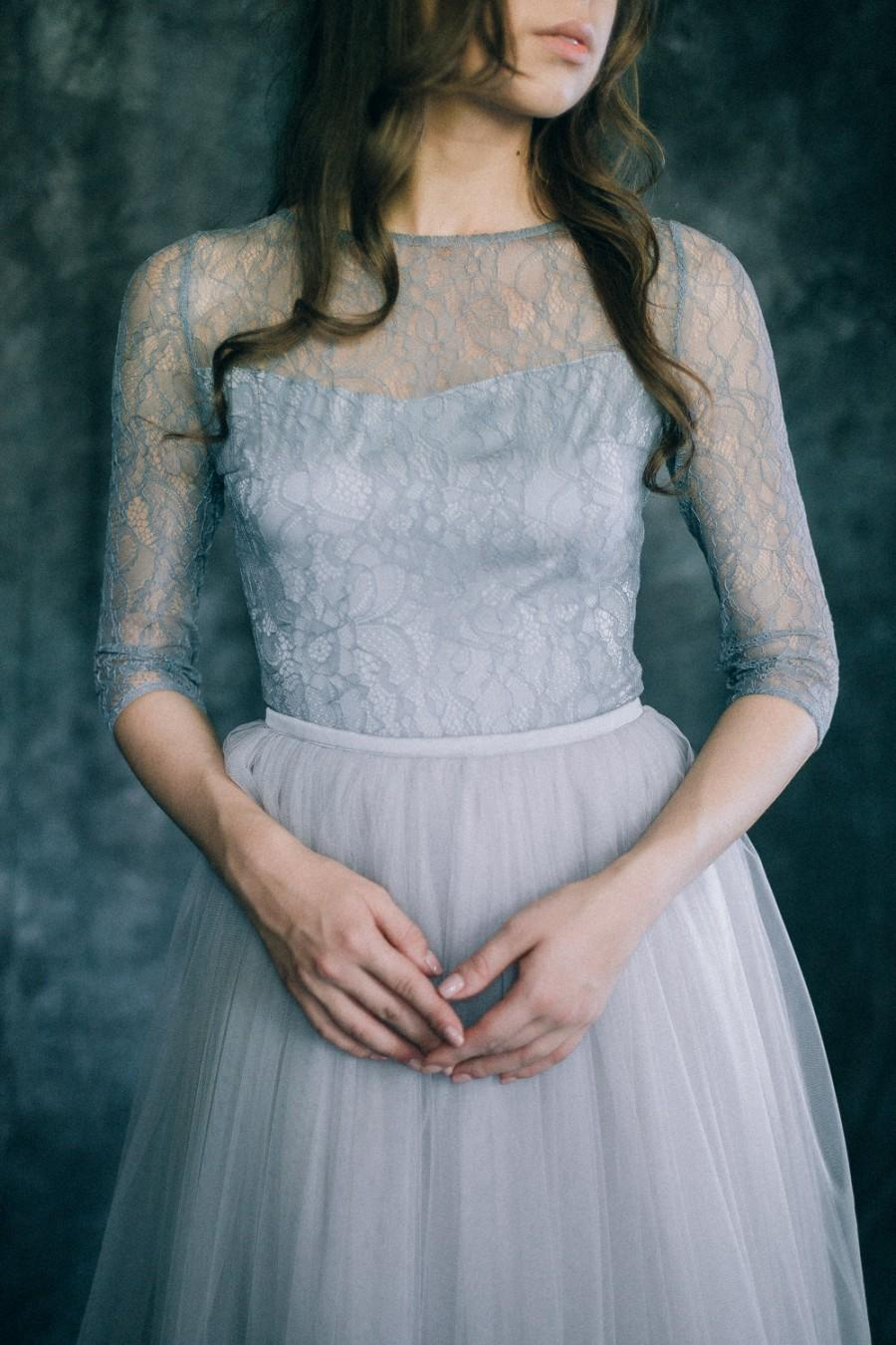 "Düğün - Wedding dress ""Grey Quartz"""