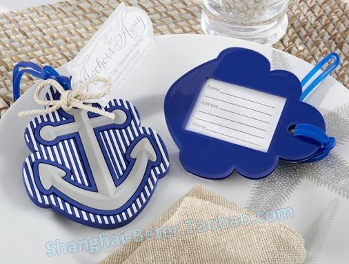 Mariage - Beter Gifts®Beach Navy Ocean Blue Anchor  Souvenirs      BETER-ZH029