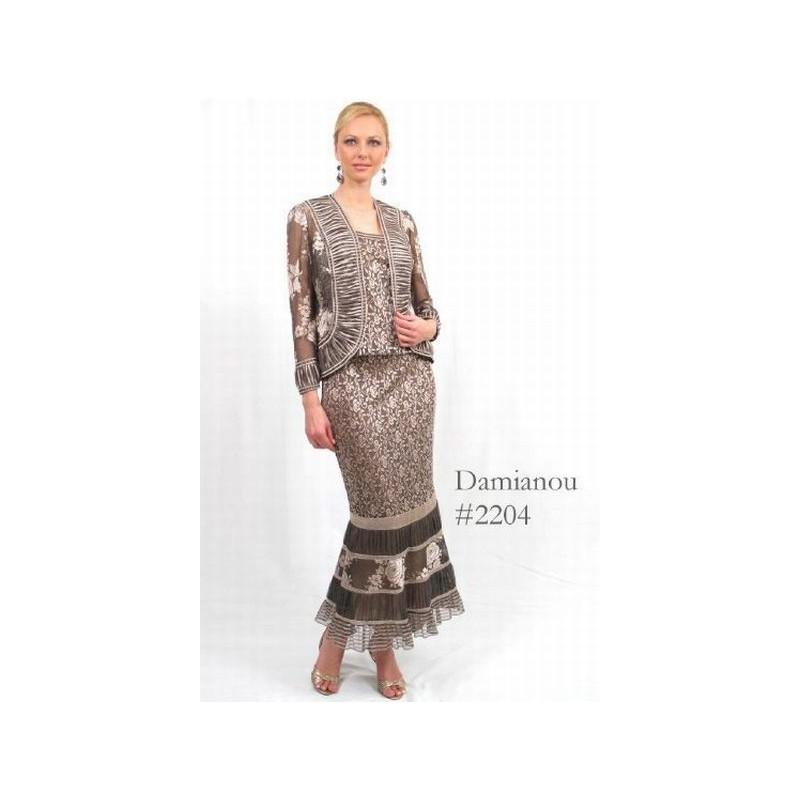 Свадьба - Damianou Multi Pattern 3pc Mother of the Bride Dress 2204 - Brand Prom Dresses