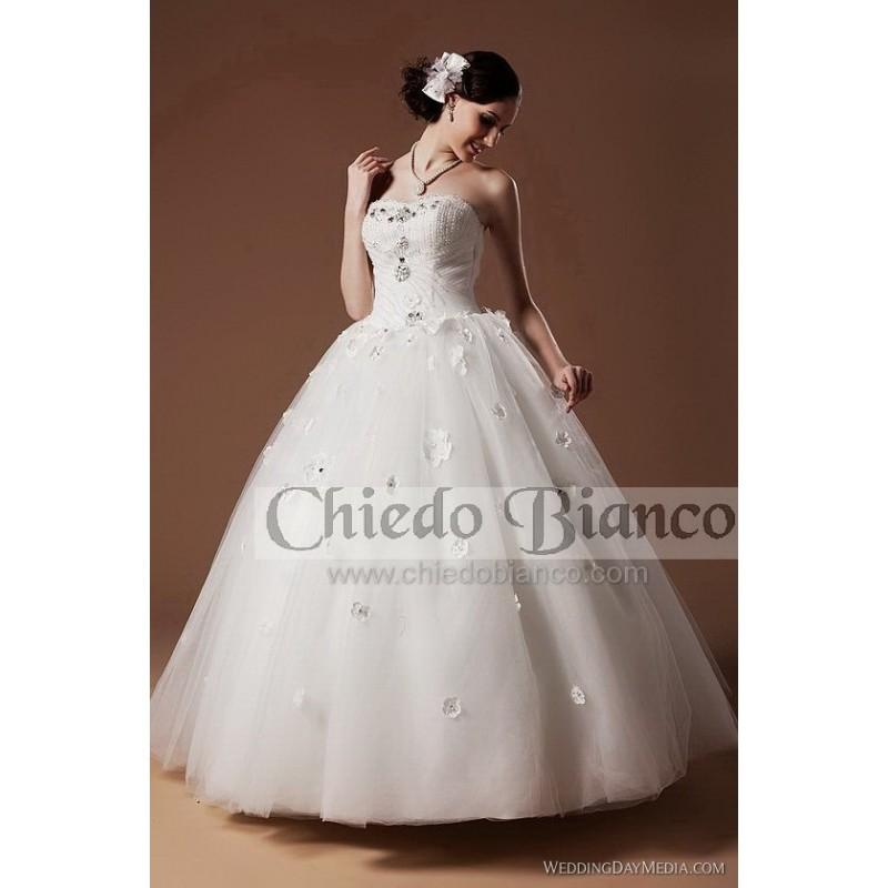 Wedding - Chiedo Bianco D2091 Chiedo Bianco Wedding Dresses Chiedo Bianco 2017 - Rosy Bridesmaid Dresses