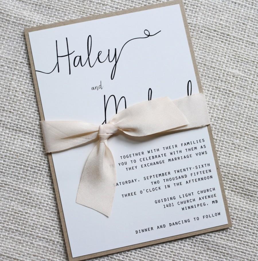 Wedding Invitations With Ribbon - staruptalent.com -