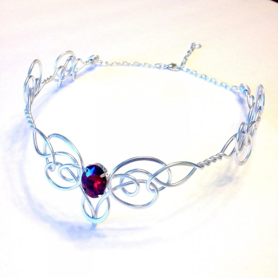 GUINEVERE Circlet - Celtic Elven Medieval Rennaisance - Hand Wire ...
