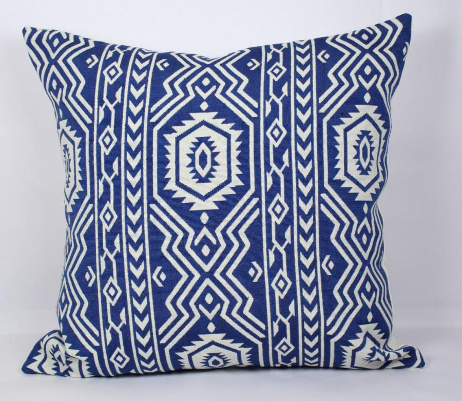 Wedding - Geometric 12x16 pillow covers 20x20 pillow cover 24x24 pillow cover 26x26 blue throw pillow covers 18x18 pillow cover 16x16 sofa cushions