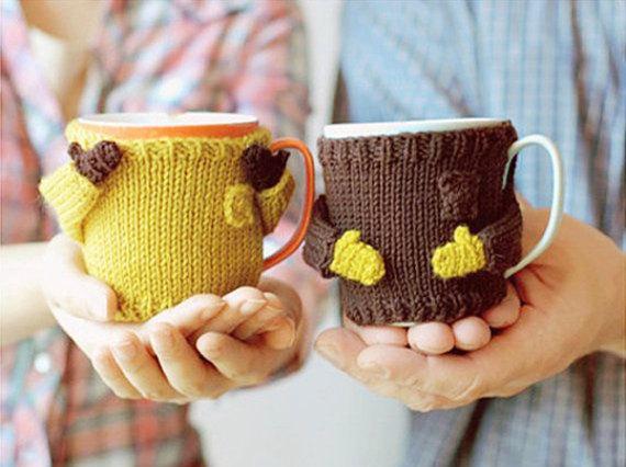 Свадьба - DIY Mug Sweater Pattern