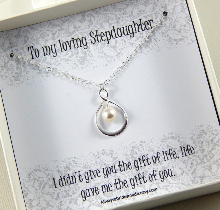 زفاف - Step Daughter  Gift - Gift Boxed Jewelry Thank You Gift