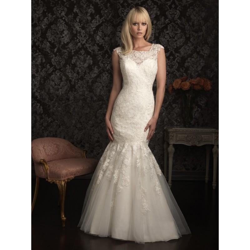 Allure Bridals 9025 Vintage Lace Wedding Dress - Crazy Sale Bridal ...