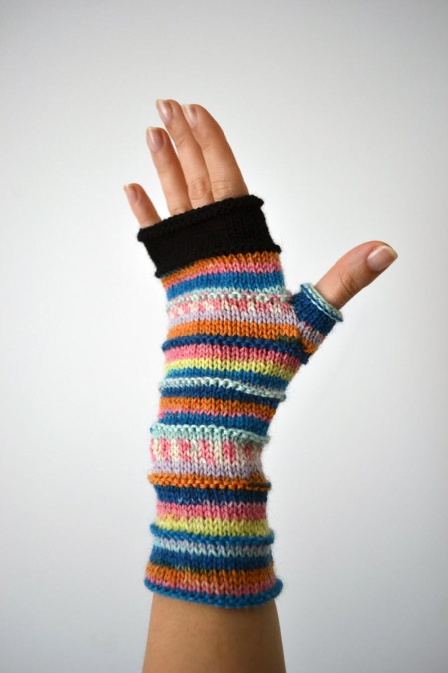 Свадьба - Soft Fingerless Gloves - Christmas Gift - Winter Accessories - Women gloves - Winter birthday Gift - Winter 2017 nO 70.