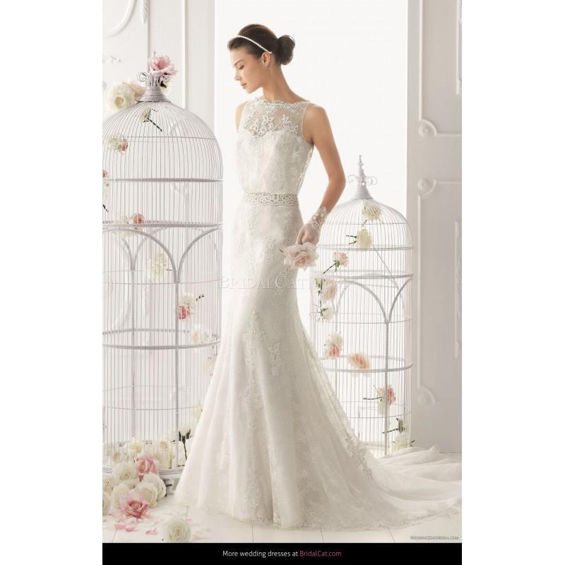 Wedding - Aire Barcelona 2014 122 Odette - Fantastische Brautkleider