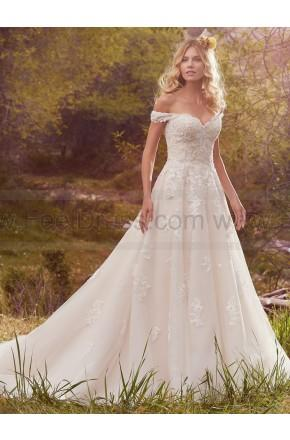 Wedding - Maggie Sottero Wedding Dresses Saffron 7MT361