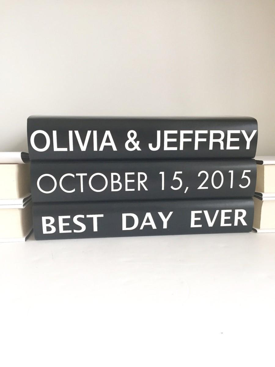 custom wedding books subway sign books personalized names dates