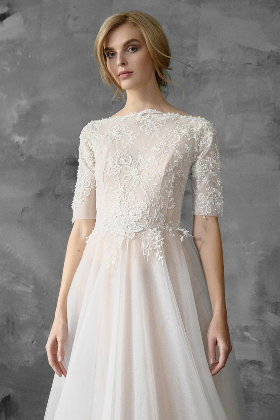 Mariage - Thalia // A-line beaded wedding dress