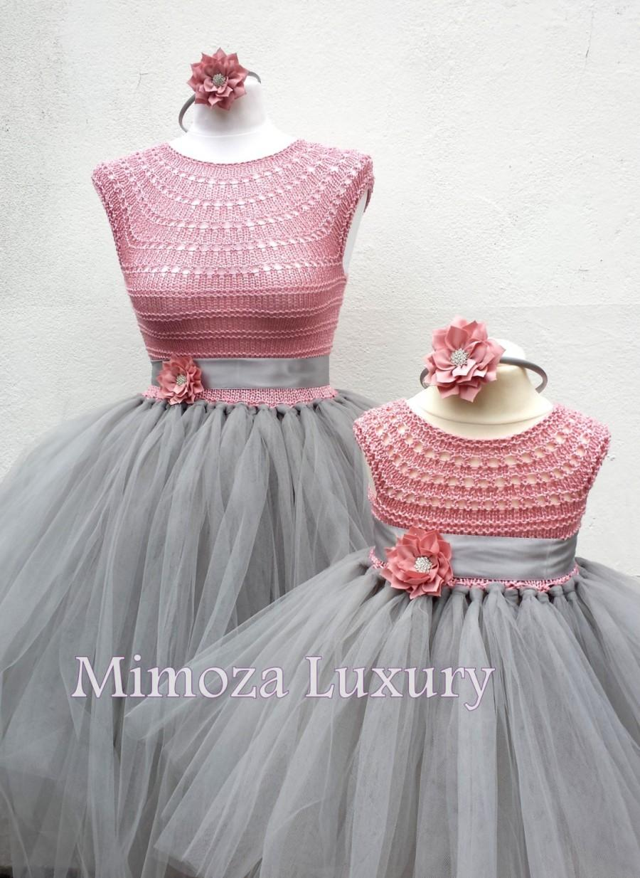 Mother daughter matching dresses adult tutu dress for Mother daughter dresses for weddings