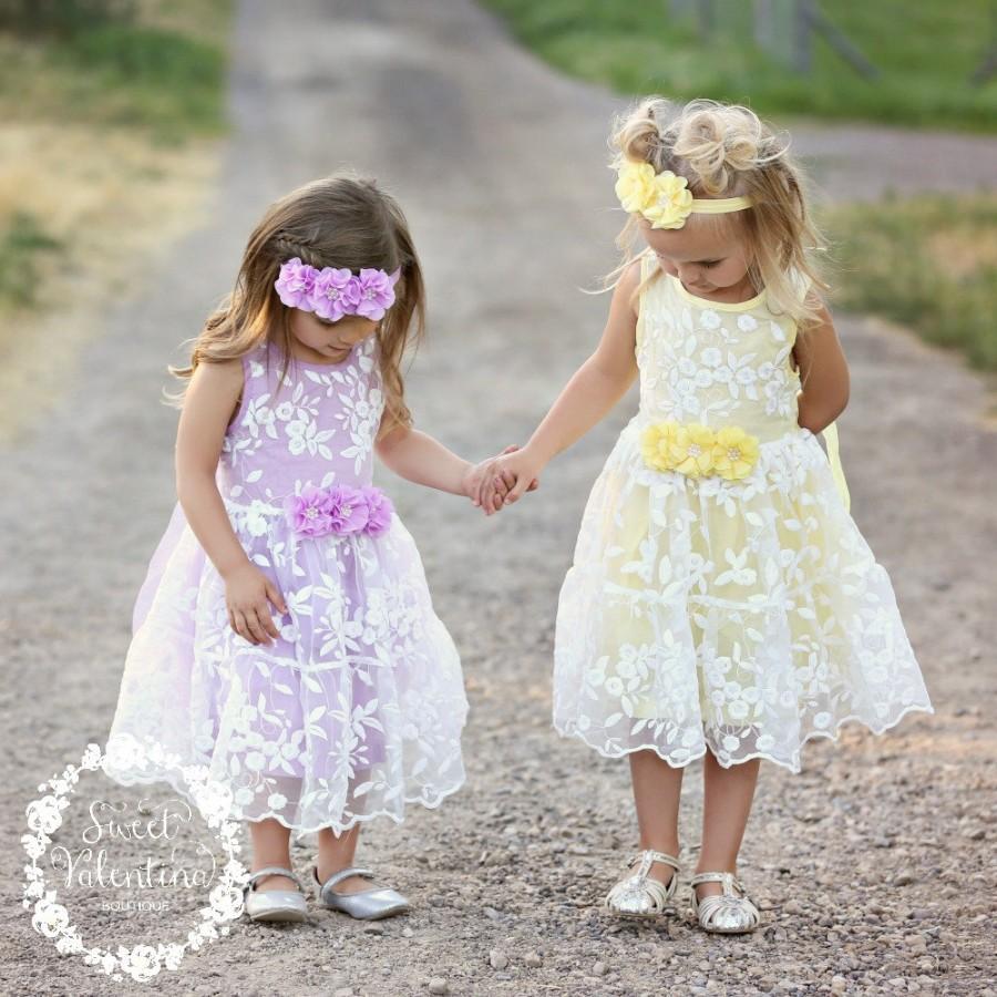 Lavender Easter Dress