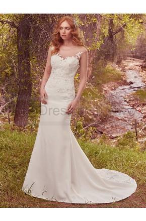 Свадьба - Maggie Sottero Wedding Dresses Dion 7MW348