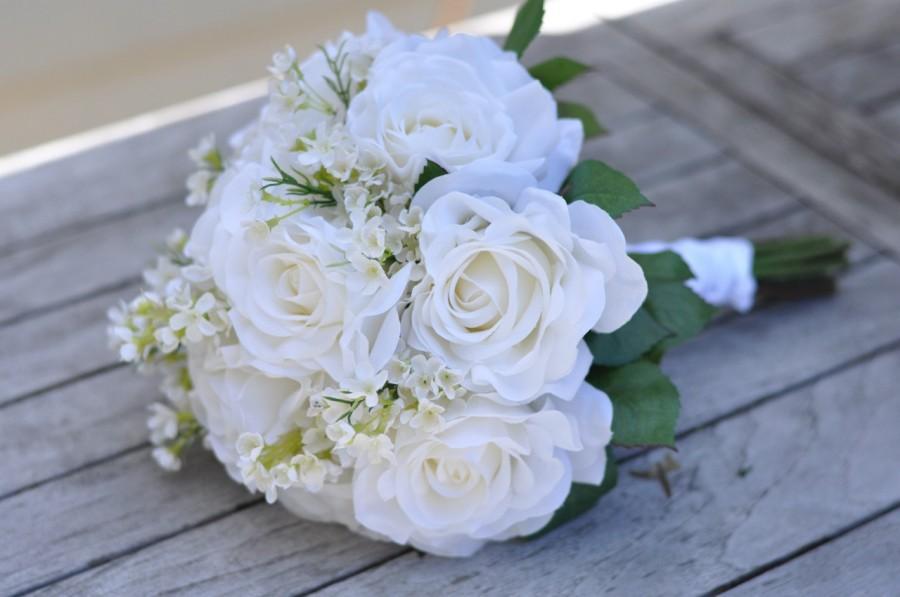 Silk Wedding Bouquet Wedding Bouquet Keepsake Bouquet Bridal