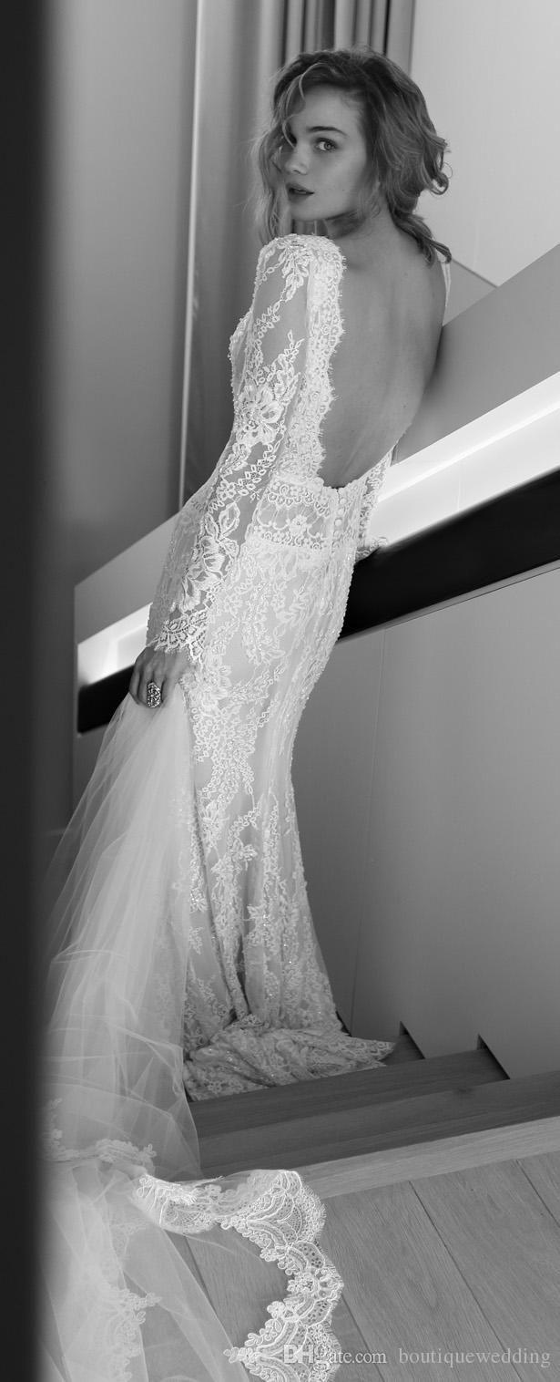 Hippie Wedding Dresses Cheap Plus Size 2015 Lihi Hod Sheath Modest