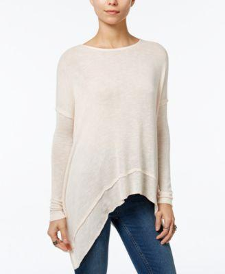 Mariage - Free People Asymmetrical Open-Back Hacci Top