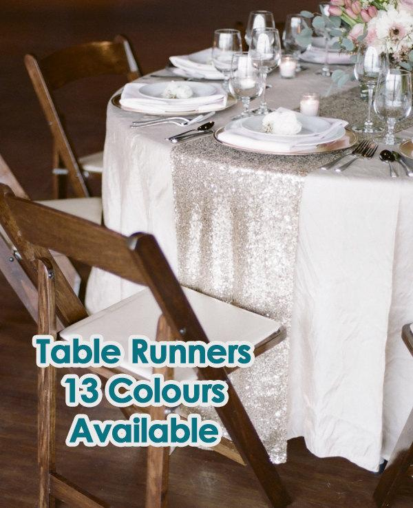 Mariage - Sequin Table Runners, Wedding Runners, Wedding Supplies, Party Supplies, Wedding Decor, Table Runner, Gold Table Runner