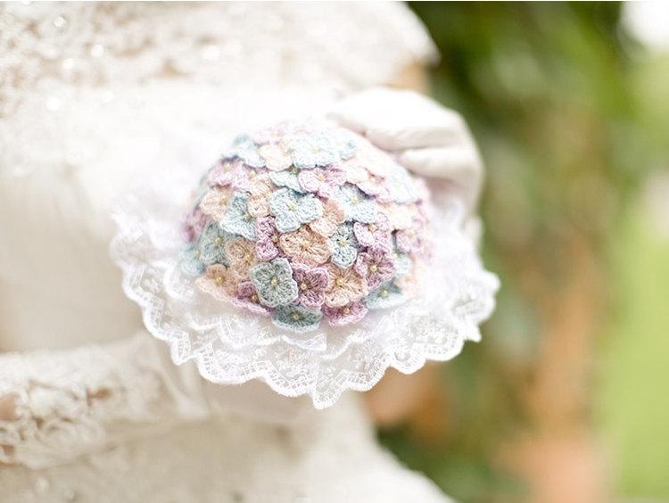 Hand Crochet Bridal Bouquet Wedding Bouquet Crochet Bouquet 2627437
