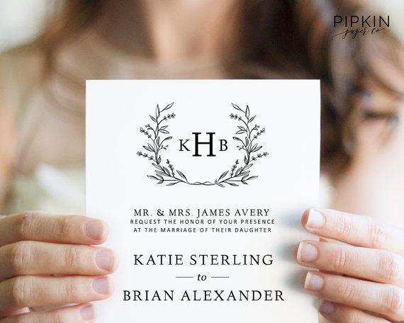 Wedding - Wedding Invitation Suite