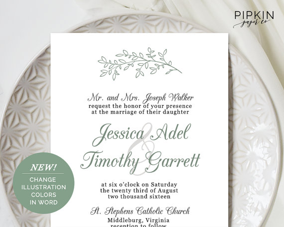 Wedding - Wedding Invitation Template Download