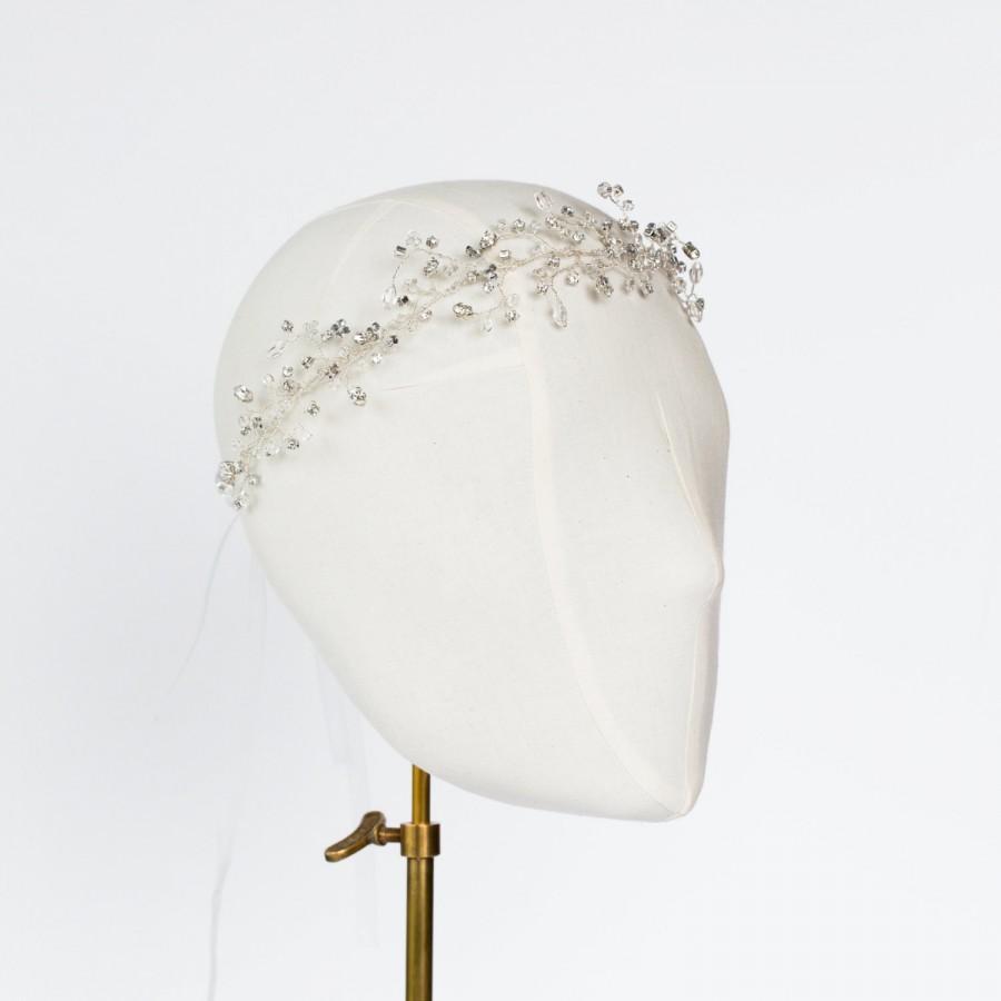 Hochzeit - Francesca Swarovksi Crystal Hairvine