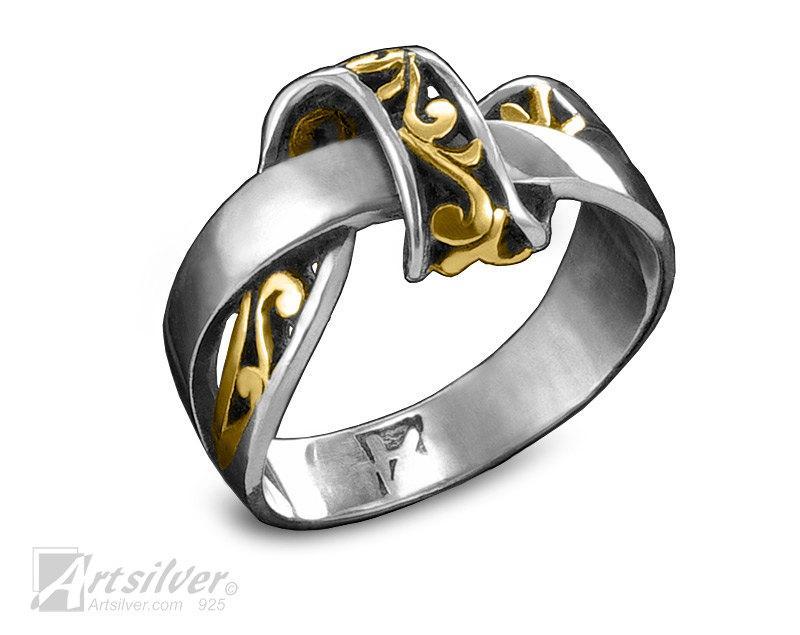 زفاف - Unique Engagement Ring. Solid Sterling Silver Friendship Ring. Wedding Band. Silver Promise Ring For Her. - KS296s